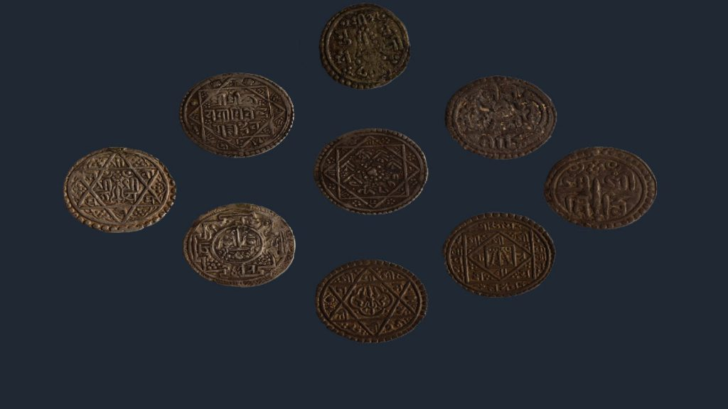THE ANCIENT COINS OF NEPAL